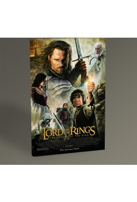 Tablo 360 The Lord of the Rings Film Afişi Tablo 45X30