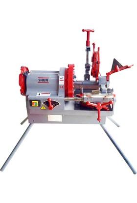 Shun 4'' Elektrikli Tezgah Pafta Makinası Profesyonel