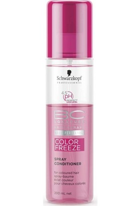 Schwarzkopf Bonacure Color Freeze Spray Saç Kremi 200Ml