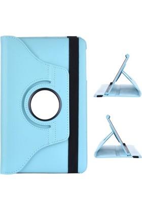 Miray Samsung Galaxy Tab 4 T230 Kılıf Standlı Kasalı - Turkuaz