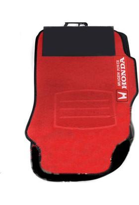 Mugen Power Honda Civic 2006-2011 Halı Paspas Kırmızı