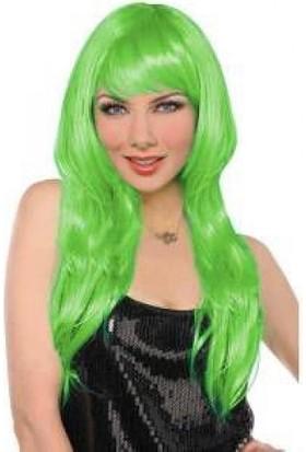 Sena Peruk Gerçekçi Peruk Yeşil