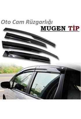 Ptn Honda Jazz Mugen 2008-Oto Mugen Cam Rüzgarlıgı Ön Arka 4Ad