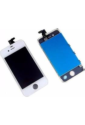 CepToys İphone 4 Lcd Ekran Dokunmatik Beyaz
