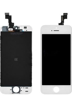 CepToys İphone 5S Lcd Ekran Dokunmatik Beyaz