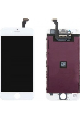 CepToys İphone 6 Plus Lcd Ekran Dokunmatik Beyaz