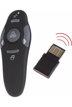 Microcase Kablosuz Lazer Sunum Kumandası AMP16 Laser Pointer 15 Mt