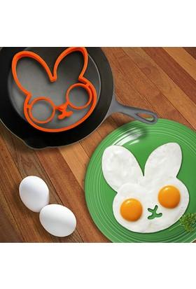 OM Silikon Yumurta Pişirme Kalıbı Tavşan Model