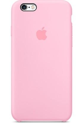 Apple iPhone 6/6S Silikon Kılıf Pembe (İthalatçı Garantili)