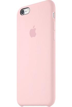 Apple iPhone 6/6S Plus Silikon Kılıf Şeker Pembesi (İthalatçı Garantili)