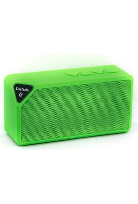 Ally X3 Bluetooth Super Bass Micro Sd Girişli Mini Speaker Hoparlör