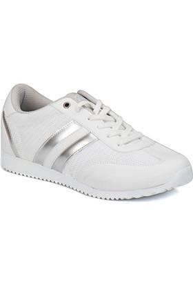 Kinetix AVILA MESH W Beyaz Gümüş Kadın Sneaker Ayakkabı