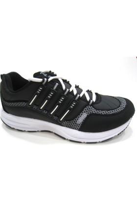 Lepons 004 Merdane Erkek Spor Ayakkabı - Siyah