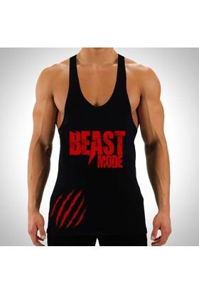 Sportono Beast Mode Fitness Sporcu Atleti