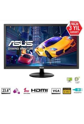 "Asus VP247QG 23.6"" 1ms (Display+HDMI+D-SUB) FreeSync LED Oyuncu Monitör"