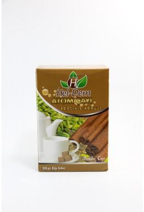 Hel-Dem Atom Çayı Tarçın & Kakule 250 gr Küp Şeker