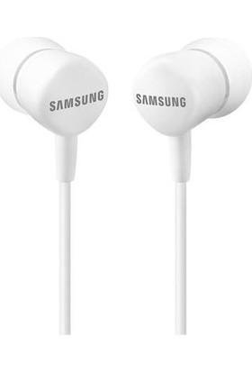 Samsung HS130 Kulakiçi Mikrofonlu Kulaklık Beyaz EO-HS130 (Samsung Türkiye Garantili)