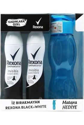Rexona Invisible Black & White Deo - Mavi Matara Copack