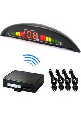 İnwells E2 Led Ekranlı Sesli Geri Park Sensörü Siyah