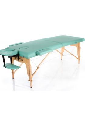 Restpro Classic 2 Yeşil Renk Katlanabilir Masaj Masası