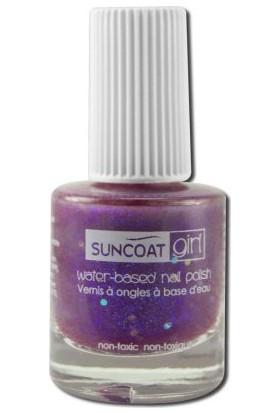 Suncoat Doğal Mineral Oje - Twinkled Purple