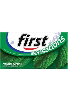 First Sensations Yeşil Nane Aromalı Sakız 27g
