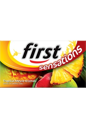 First Sensations Tropikal Sakız 27g