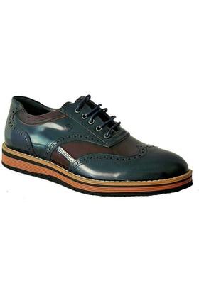 Mammamia 7190 Deri Erkek Ayakkabı Lacivert