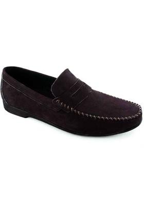 Komcero 0101 Deri Erkek Ayakkabı Bordo
