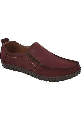 Mammamia D17Ya-7420 Erkek Nubuk Ayakkabı Bordo