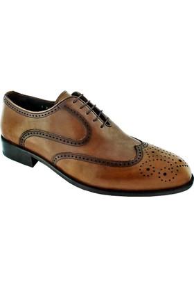 Zafer Türkoğlu 2488 Erkek Klasik Ayakkabı Taba