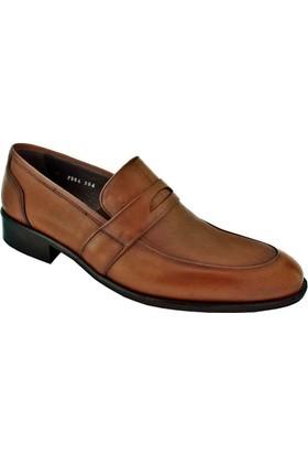 Zafer Türkoğlu 2594 Erkek Klasik Ayakkabı Taba