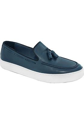 Komcero 6607 Erkek Casuel Ayakkabı Mavi