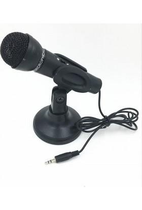 Azemax Masa Üstü Siyah Mikrofon Yw-30