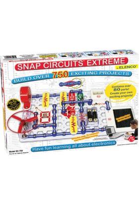 Elenco Snap Circuits Çıtçıt Devreler® Olağanüstü 750 Deney