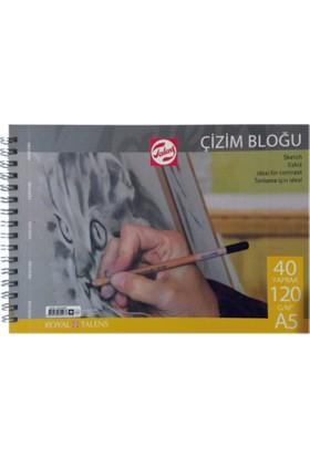 Talens Çizim Bloğu 40 Yaprak 120 Gr A5