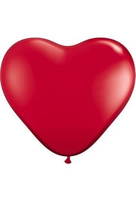 Kutlama Marketi Kalp Balon Xl 10 Adet