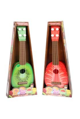 Kayyum Oyuncak Oyuncak Gerçekçi Mevve Görünümlü Gitar