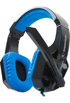Snopy Rampage Sn-R3 Plus Gaming Siyah/Mavi Mikrofonlu Kulaklık