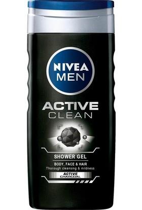 Nıvea Men Actıve Clean Duş Jeli 500 Ml