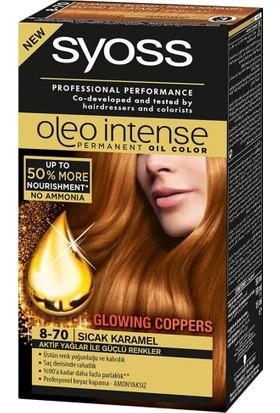Syoss Oleo İntense Amonyaksız Saç Boyası 8-70