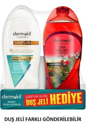 Dermokil Şampuan+Duş Jeli Yağlı Saçlar İçin 500 Ml