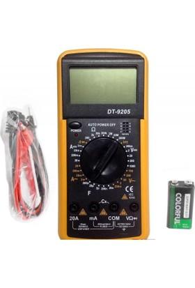 Tt Technic Dt-9208 T El Tipi Digital Multimetre