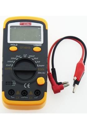 Tt-Technıc 6013L Multımetre Kapasitemetre