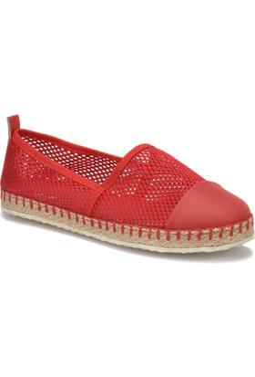 Carmens U1202 Z Kırmızı Kadın Espadril Ayakkabı