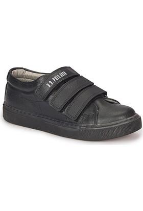 U.S. Polo Assn. Romont Siyah Unisex Çocuk Ayakkabı