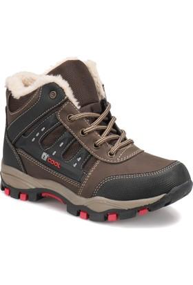 I Cool Ic108 Kahverengi Erkek Çocuk Outdoor Ayakkabı