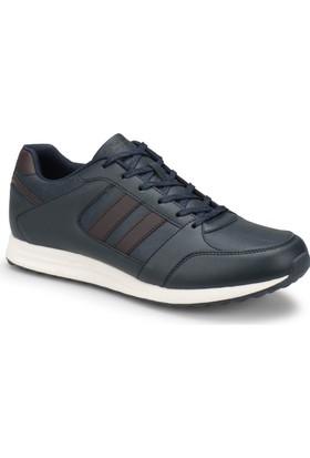 Kinetix Ren M Lacivert Kahverengi Erkek Sneaker Ayakkabı