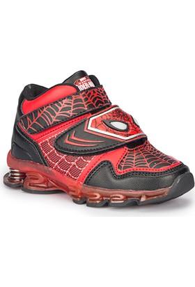 Spiderman Busy Siyah Erkek Çocuk Athletic Ayakkabı