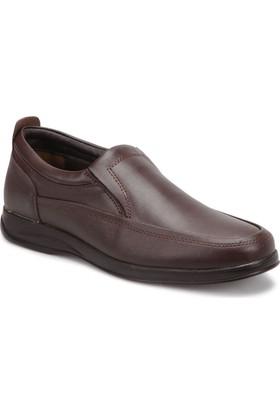 Polaris 72.109415.M Kahverengi Erkek Klasik Ayakkabı
